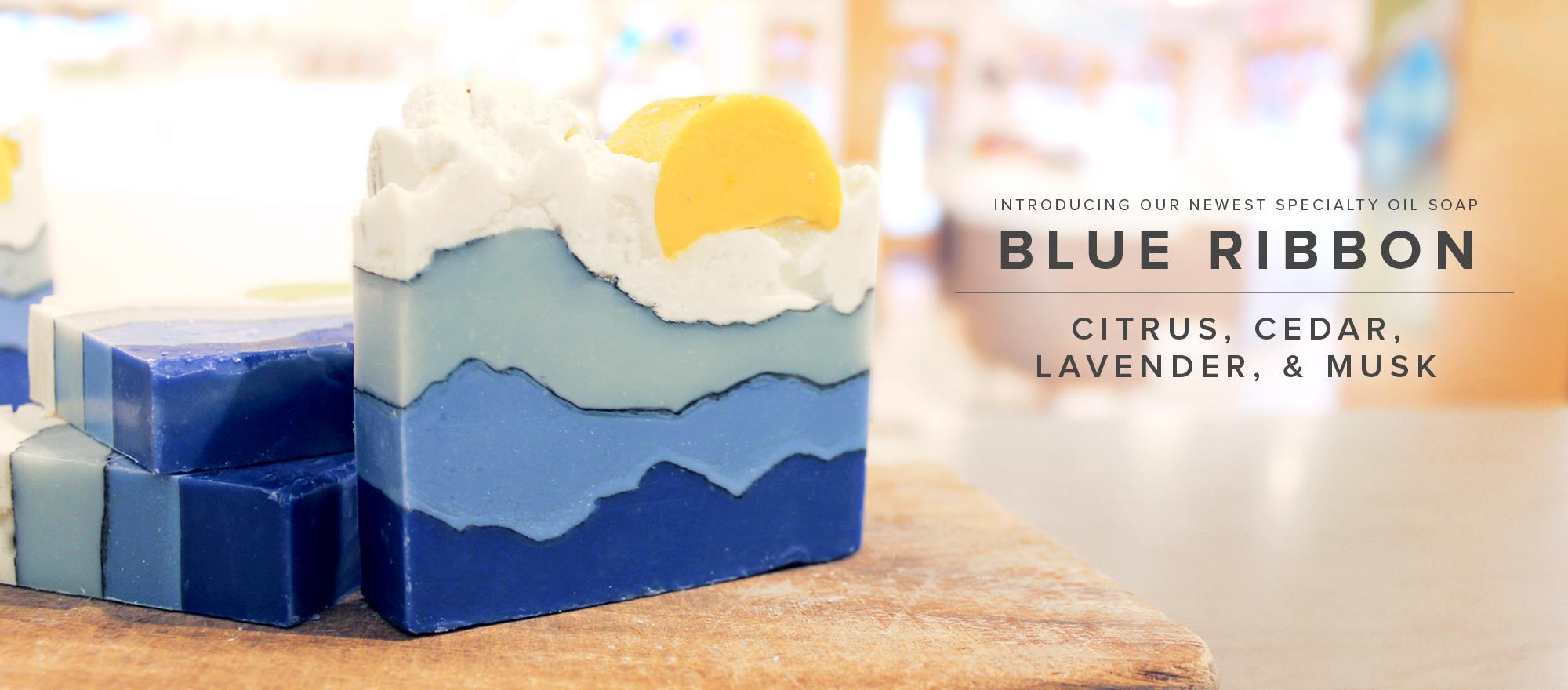 NEW! Blue Ribbon Soap