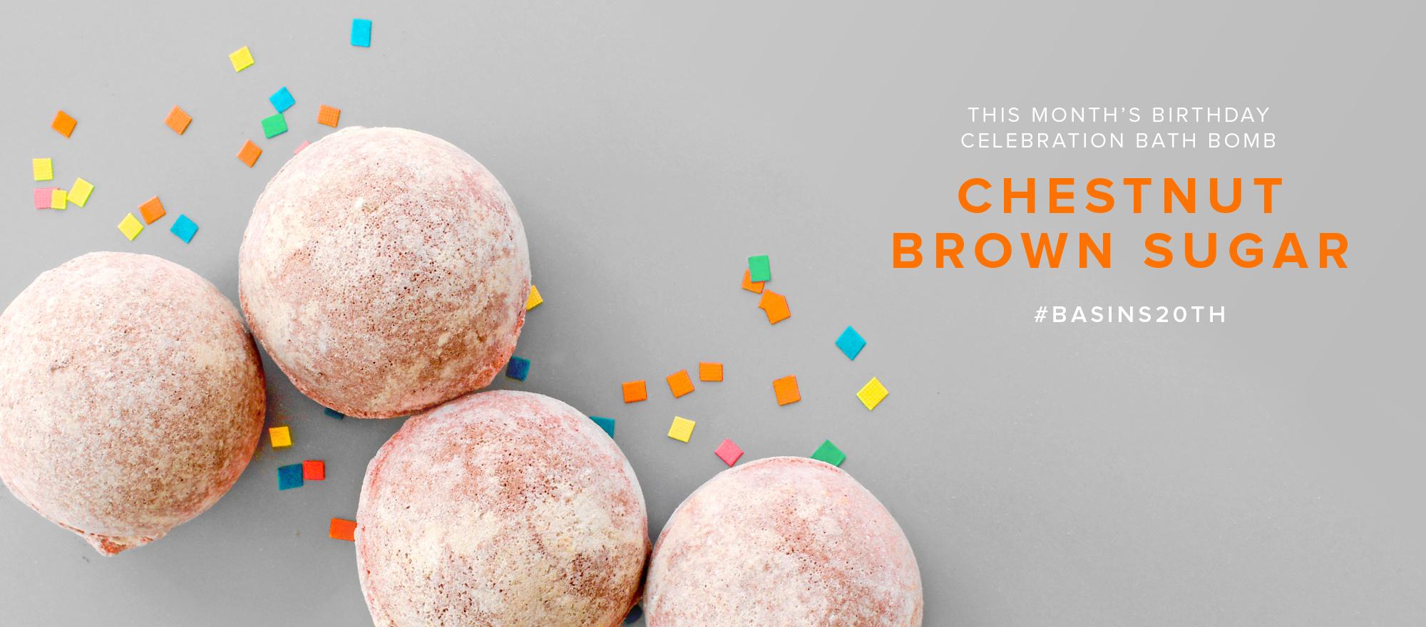 Chestnut Brown Sugar Bath Bomb