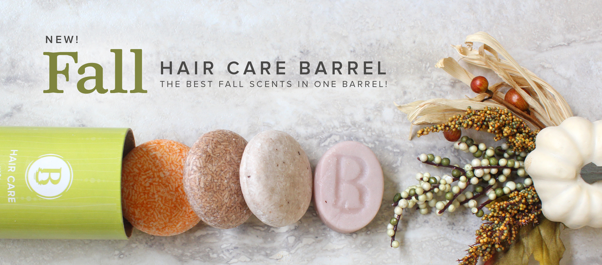 Fall Hair Care Barrel