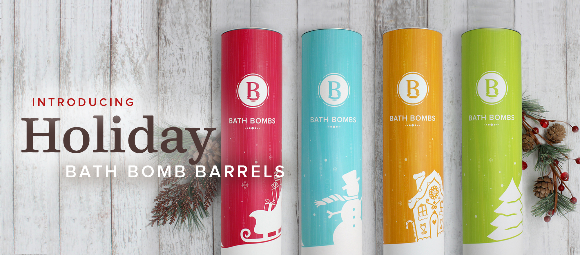 Holiday Bath Bombs