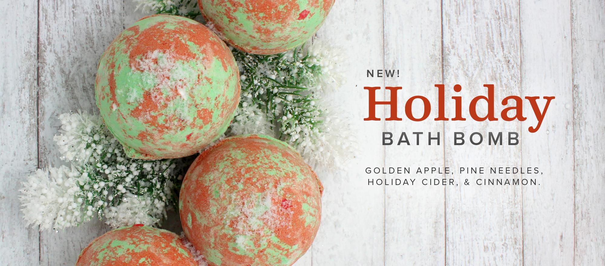 Holiday Bath Bomb