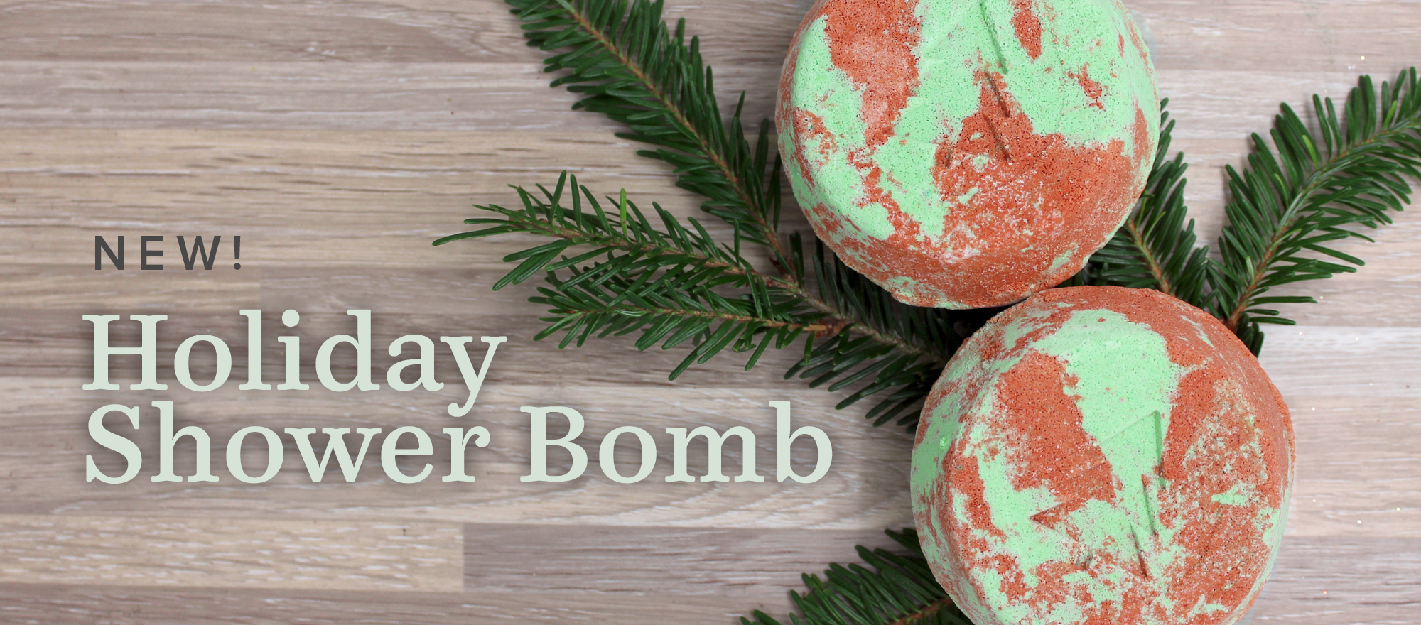 NEW! Holiday Shower Bomb