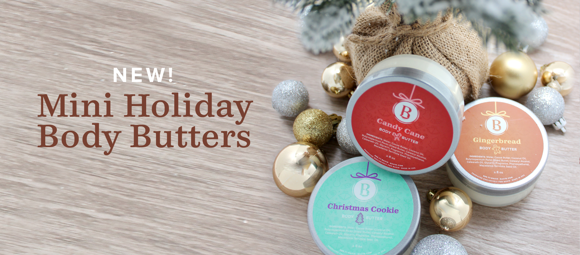 Mini Holiday Body Butters
