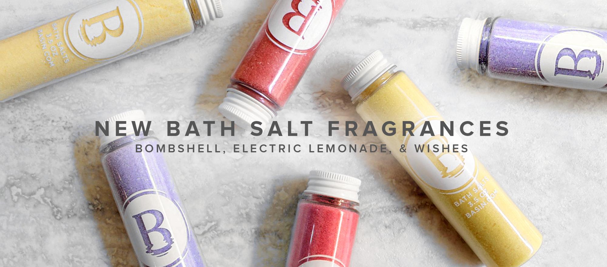 NEW Bath Salt Fragrances
