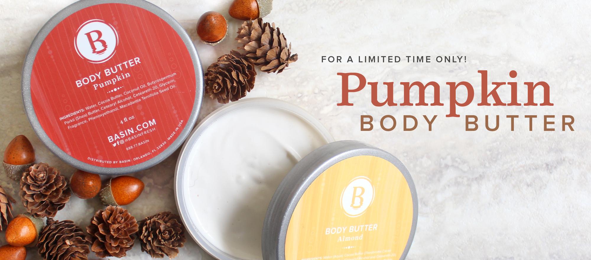 Pumpkin Body Butter (NEW!)