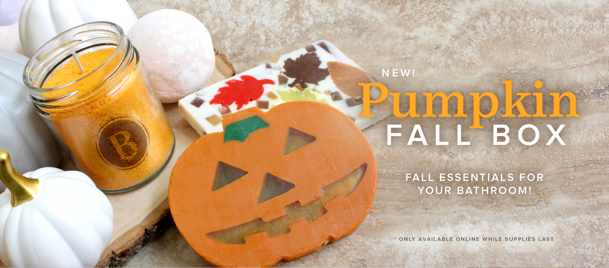 NEW! Pumpkin Fall Box
