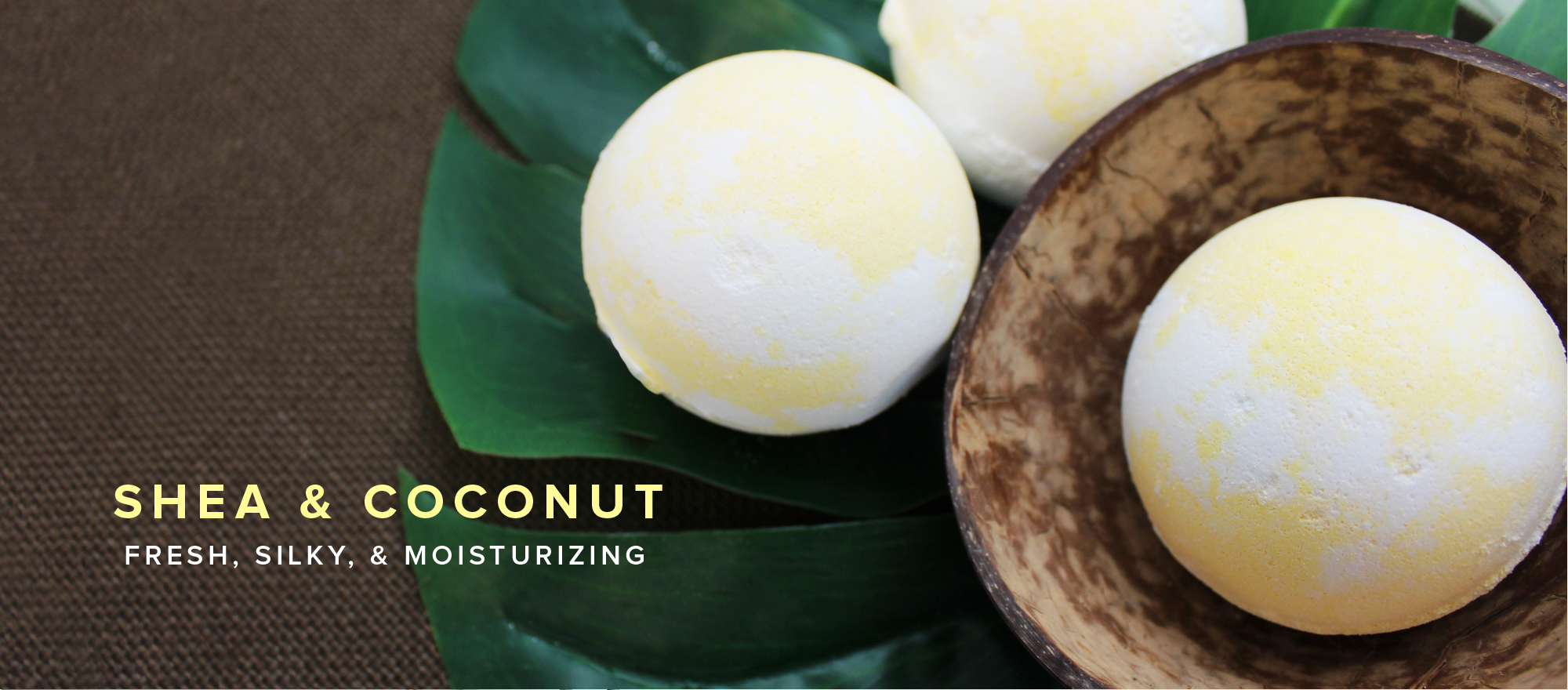 Shea & Coconut Bath Bomb