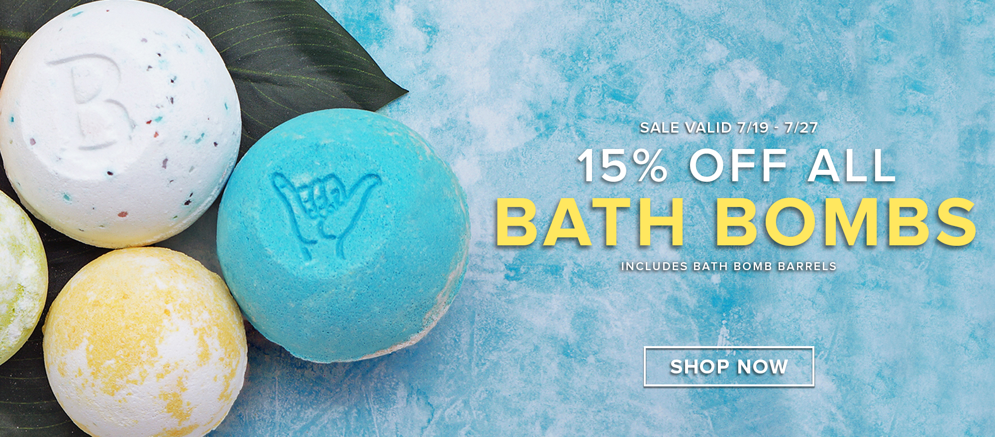 Bath Bomb Sale