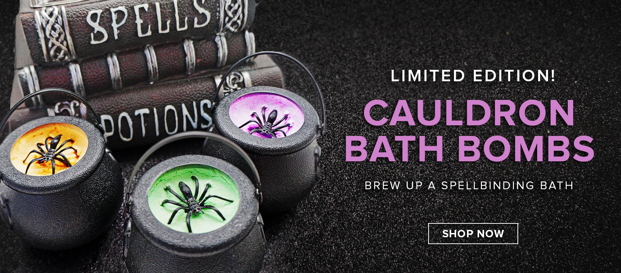NEW! Cauldron Bath Bombs