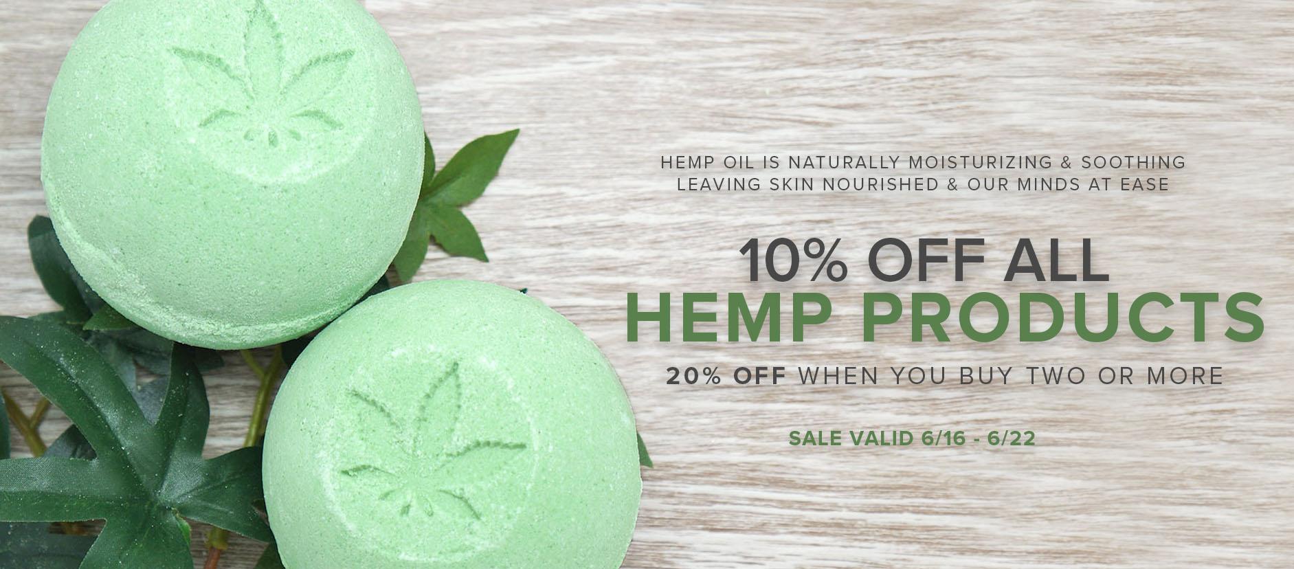 Hemp Products Sale