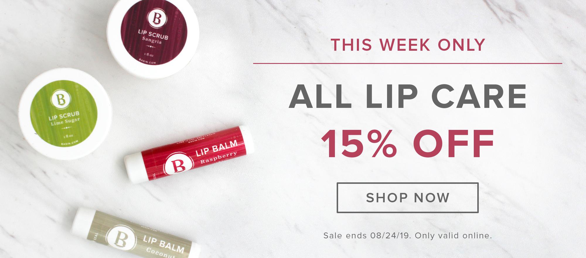 Lip Care Sale