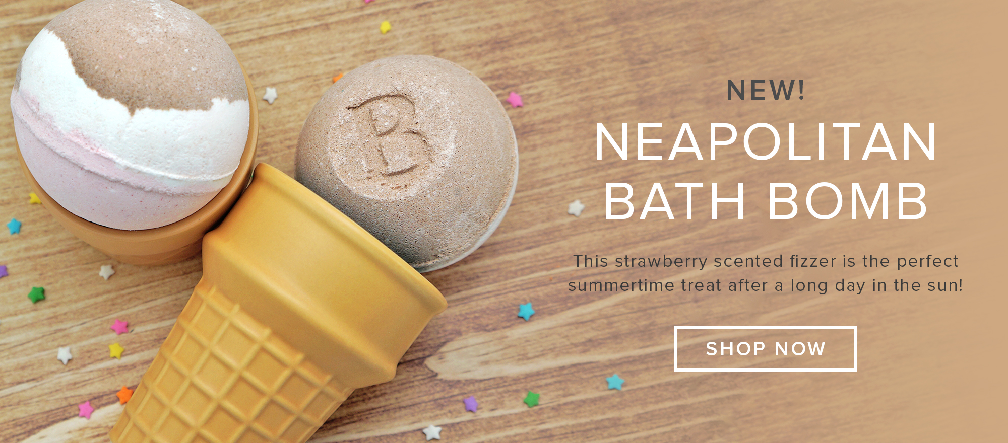 NEW Neapolitan Bath Bomb