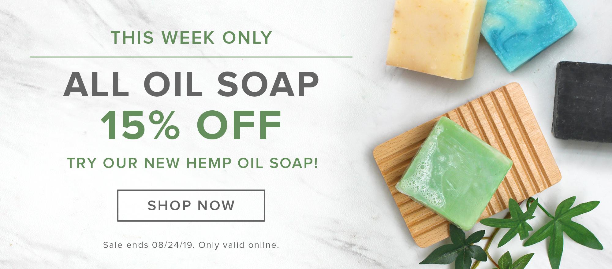 Oil Soap Sale