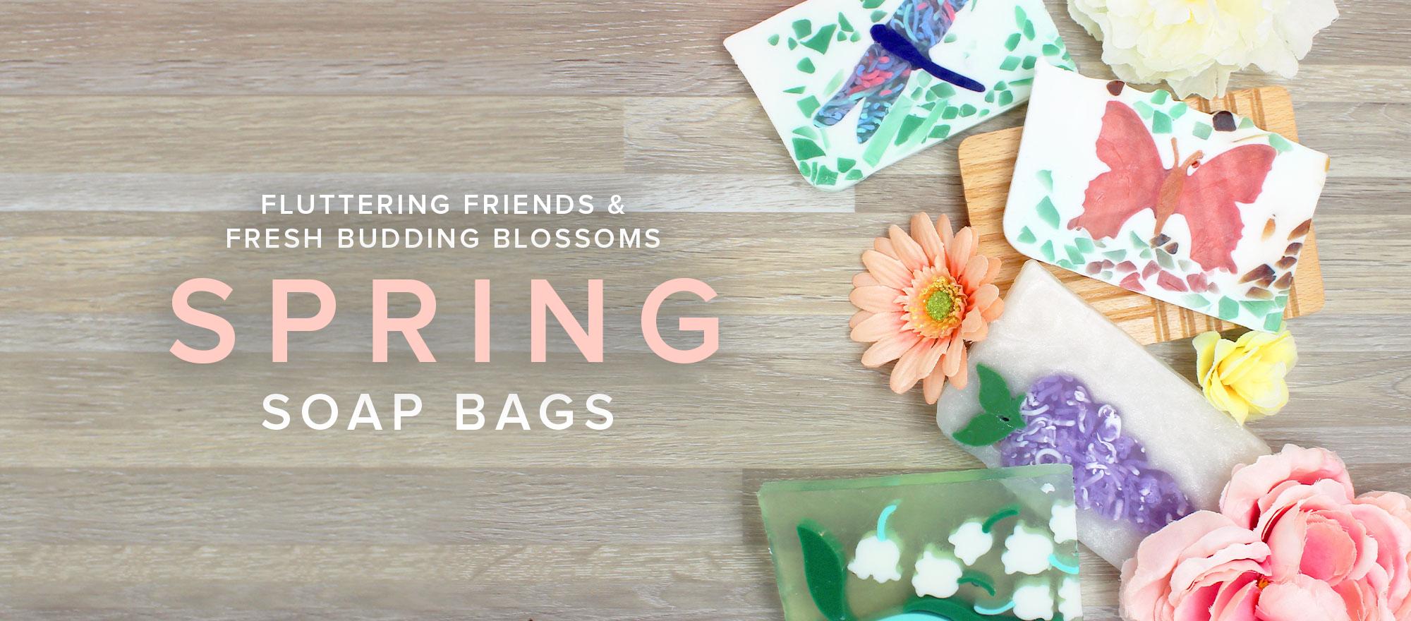Spring Soap Bag