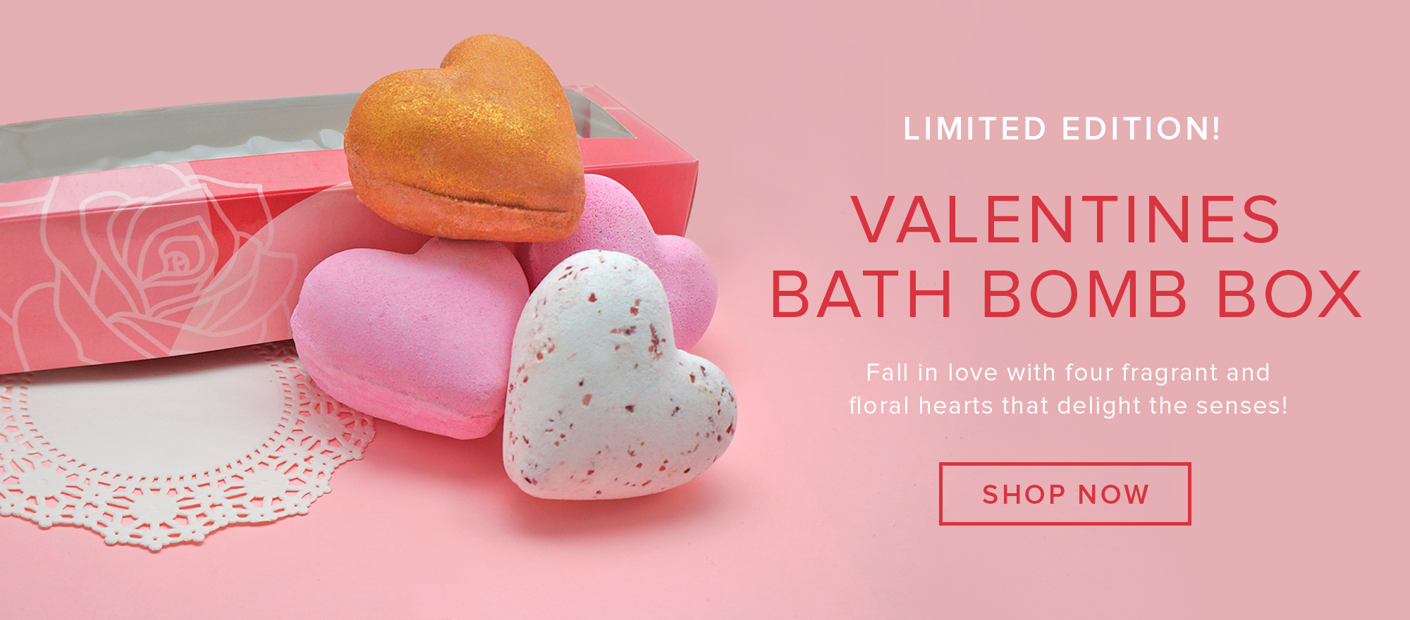 Valentines Bath Bomb Box