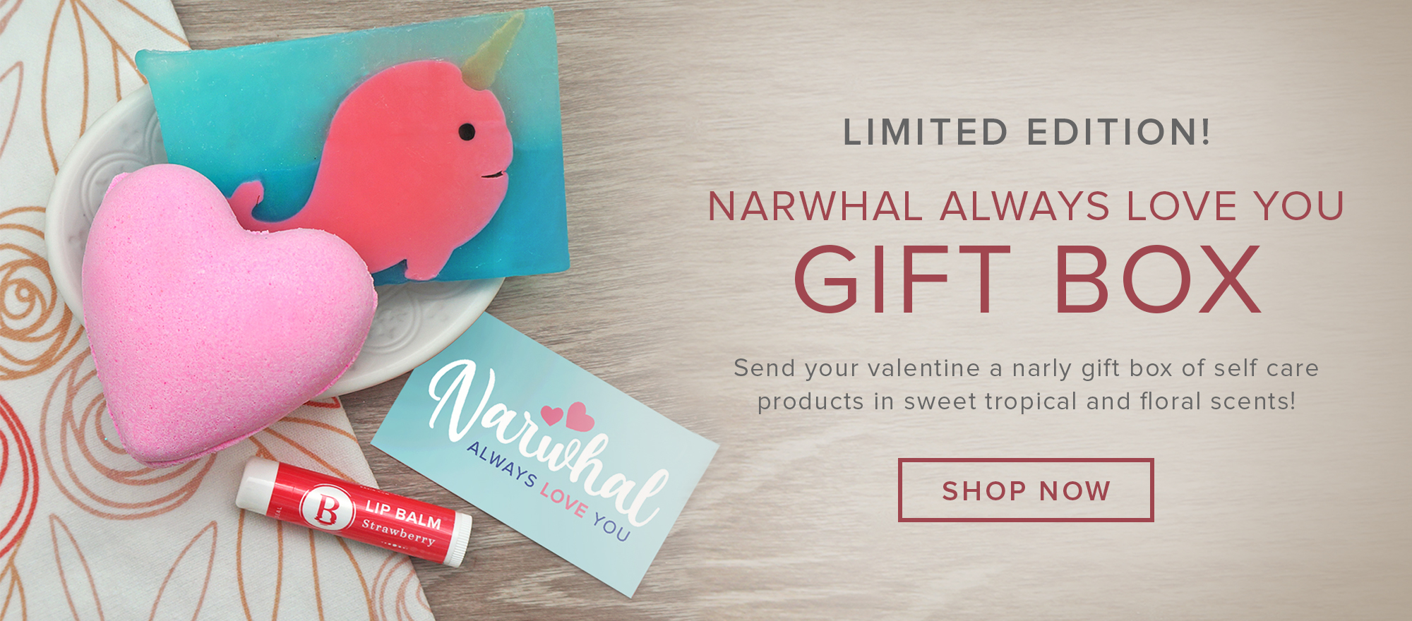 Narwhal Always Love You Gift Box