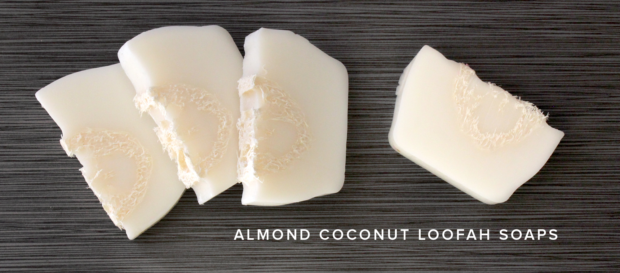Almond Coconut Loofah Soap