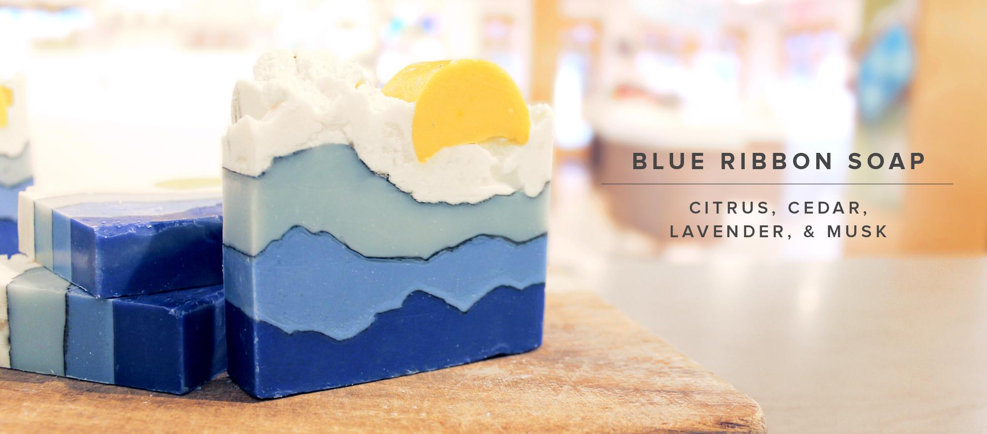 NEW Blue Ribbon Soap