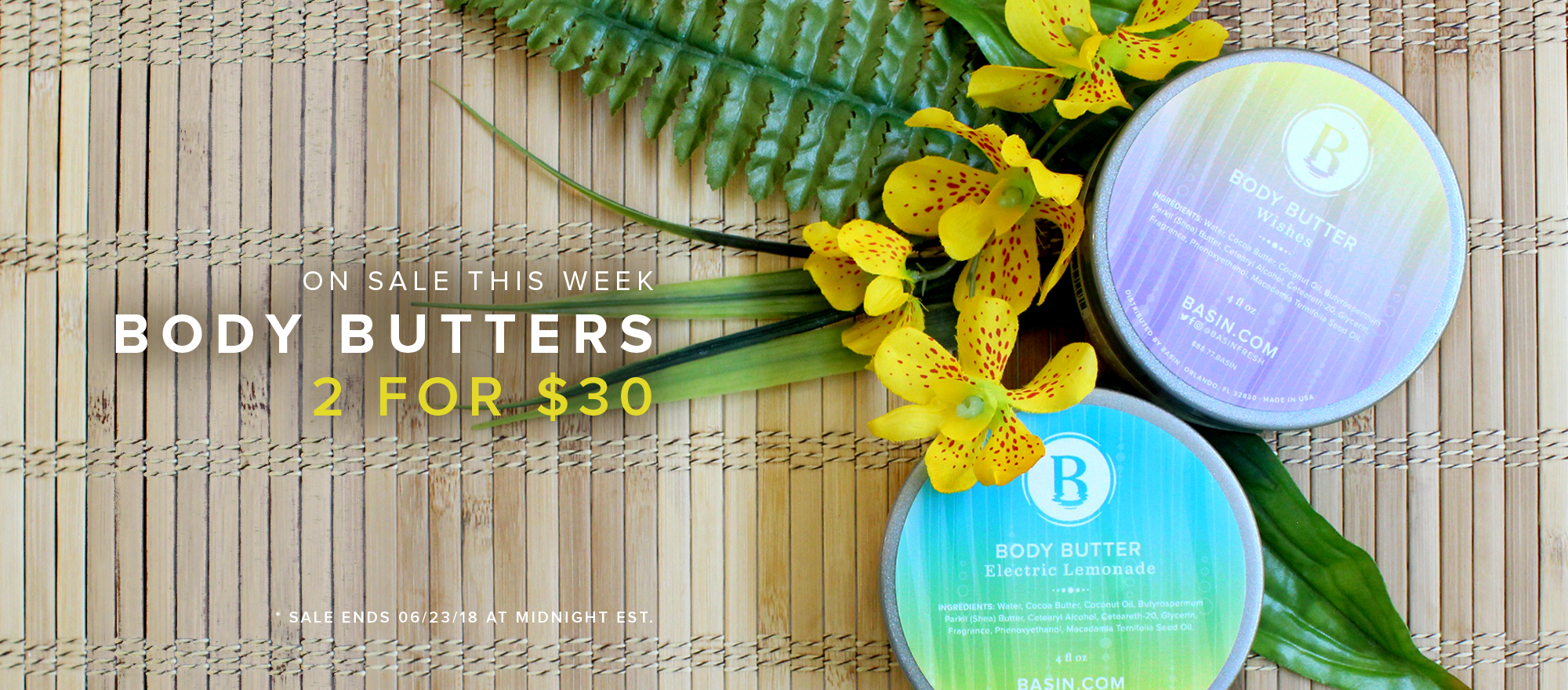 Body Butter Sale