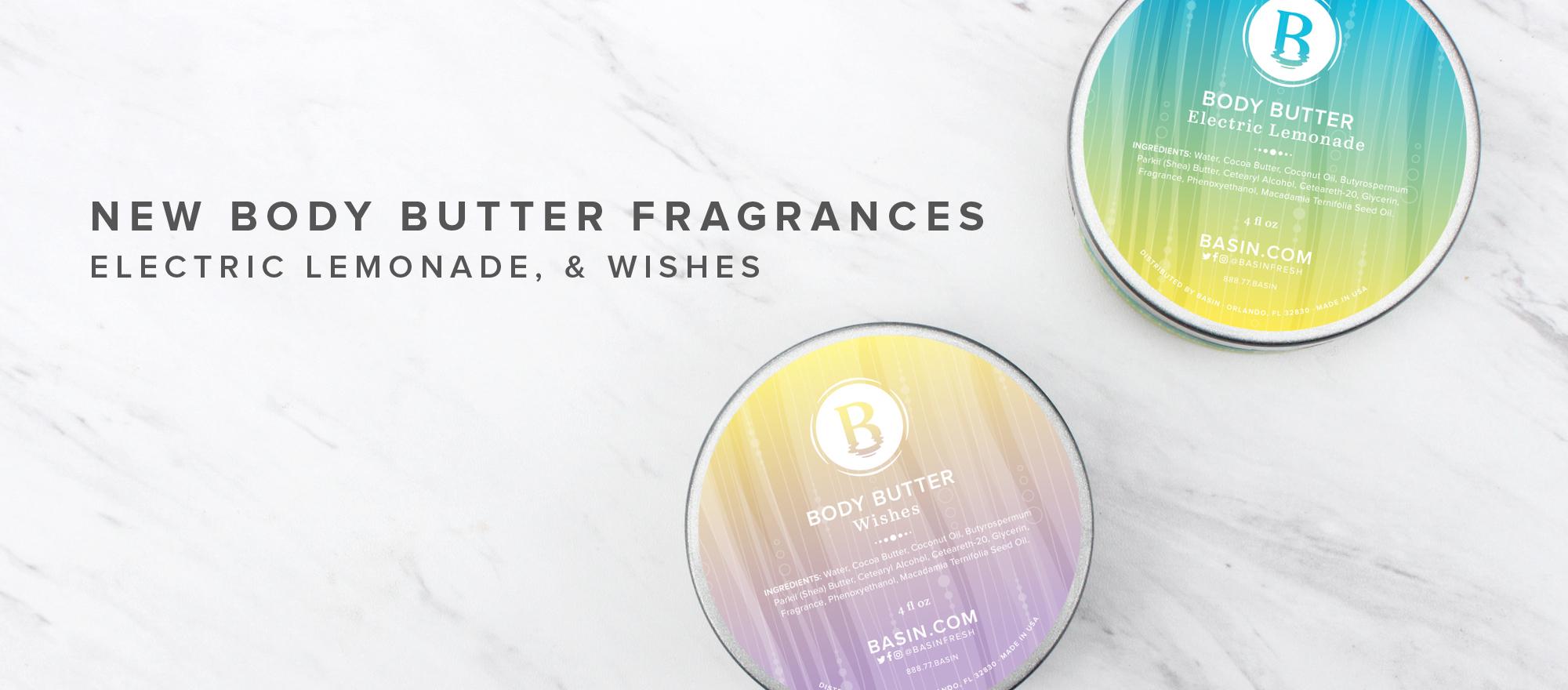 New Body Butter Fragrances