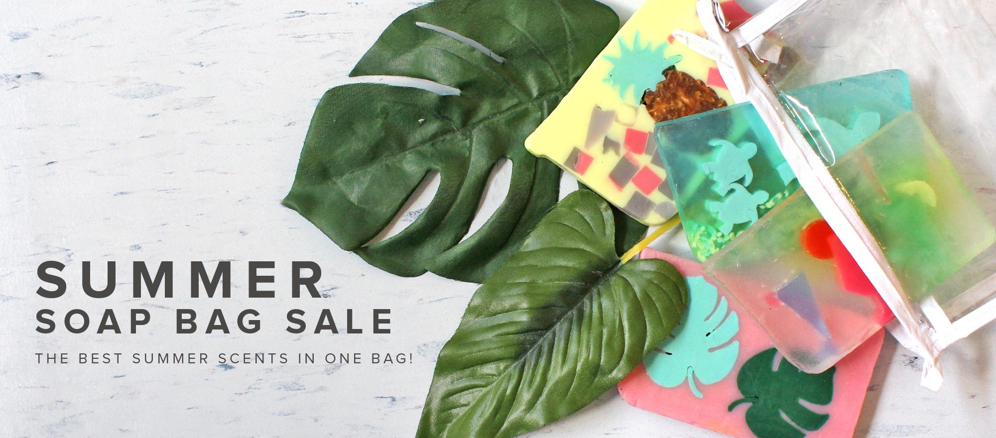 Summer Soap Bag Sale