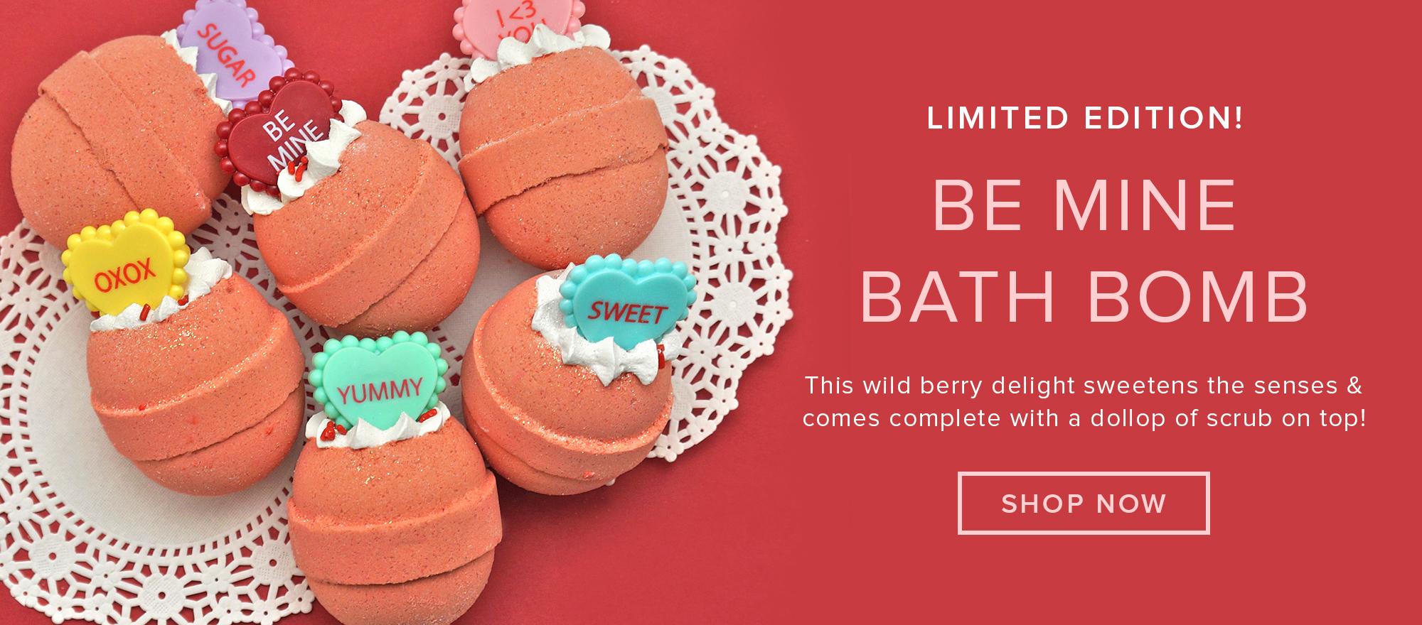 Be Mine Bath Bomb
