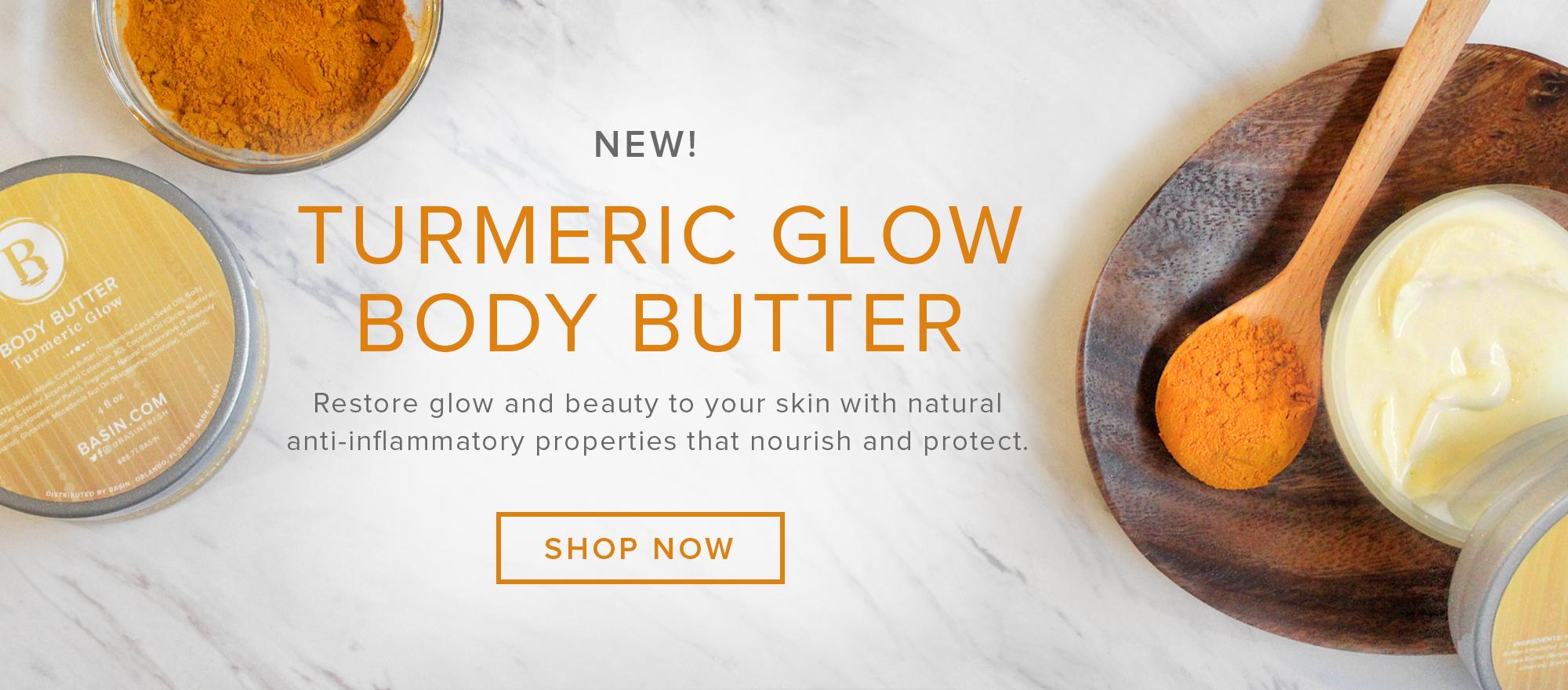 NEW Turmeric Glow Body Butter