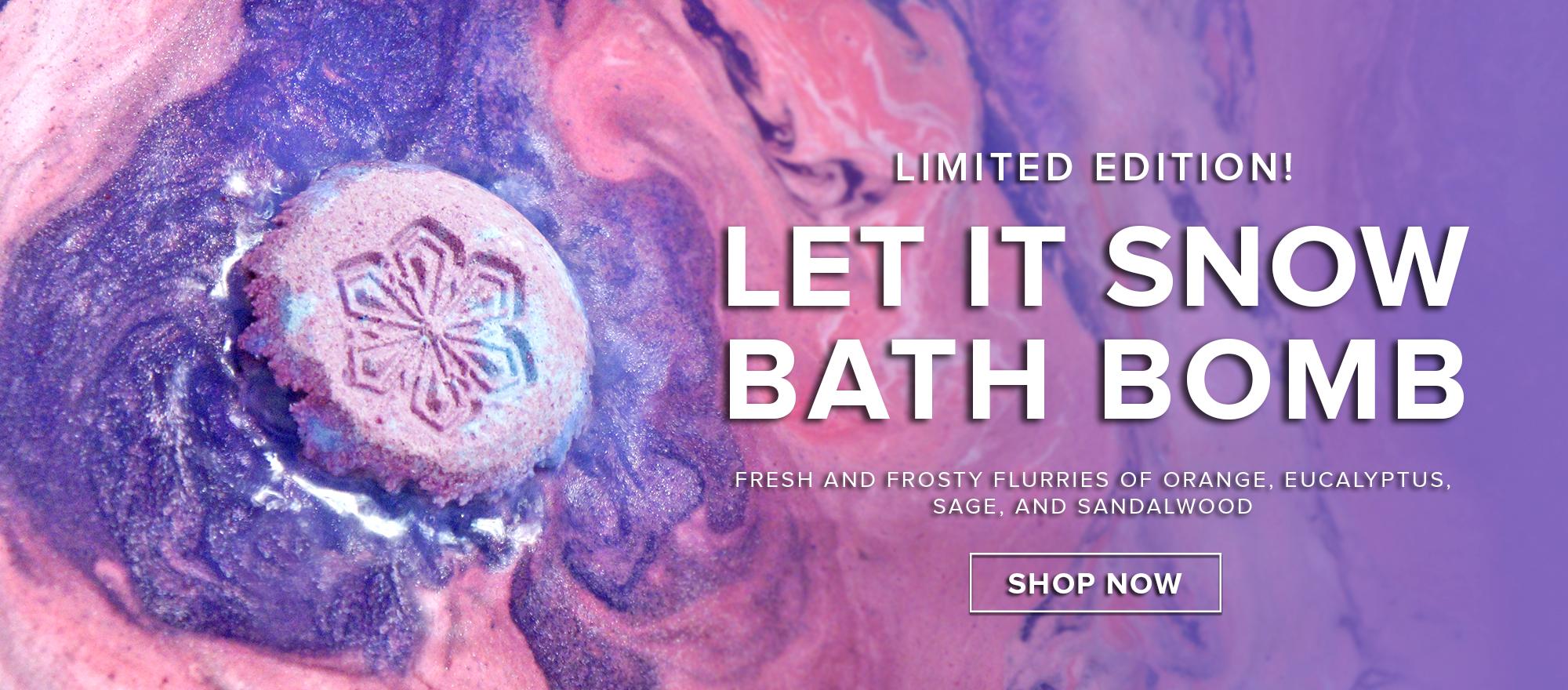 Let It Snow Bath Bomb