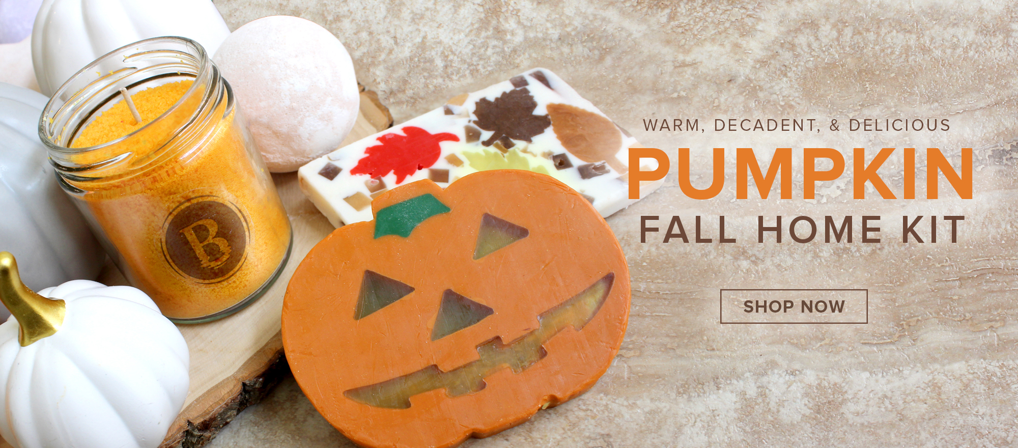 Pumpkin Fall Home Kit
