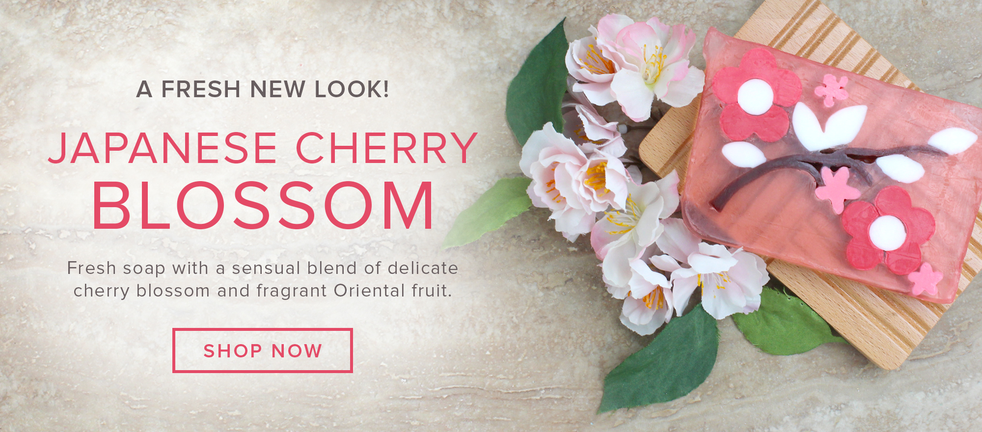 NEW Japanese Cherry Blossom Soap