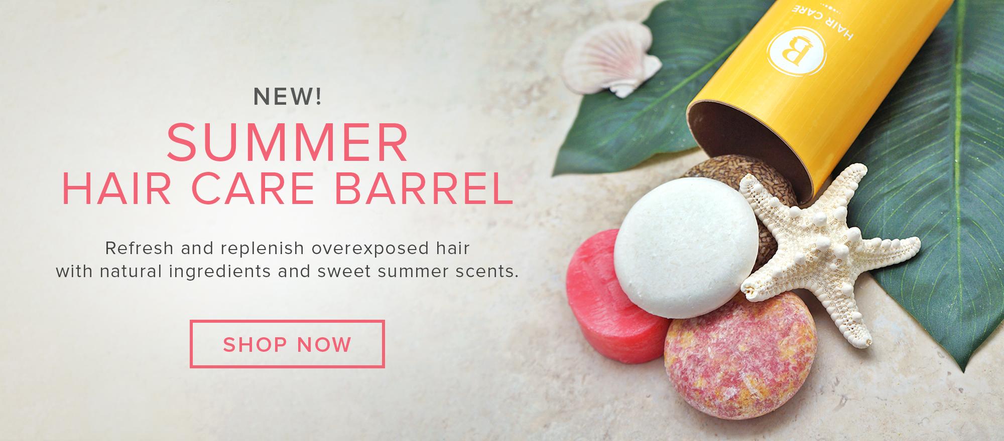 Summer Hair Care Barrel
