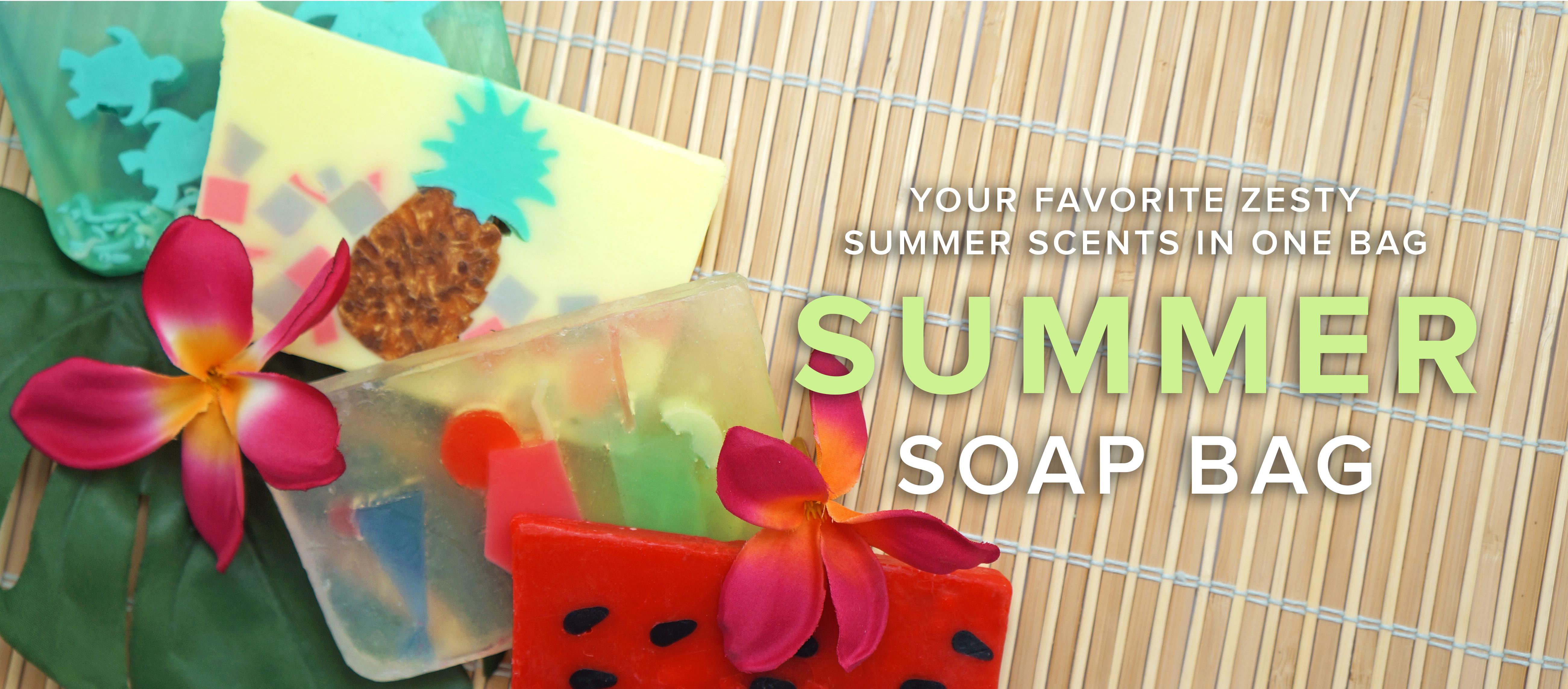 Summer Soap Bag
