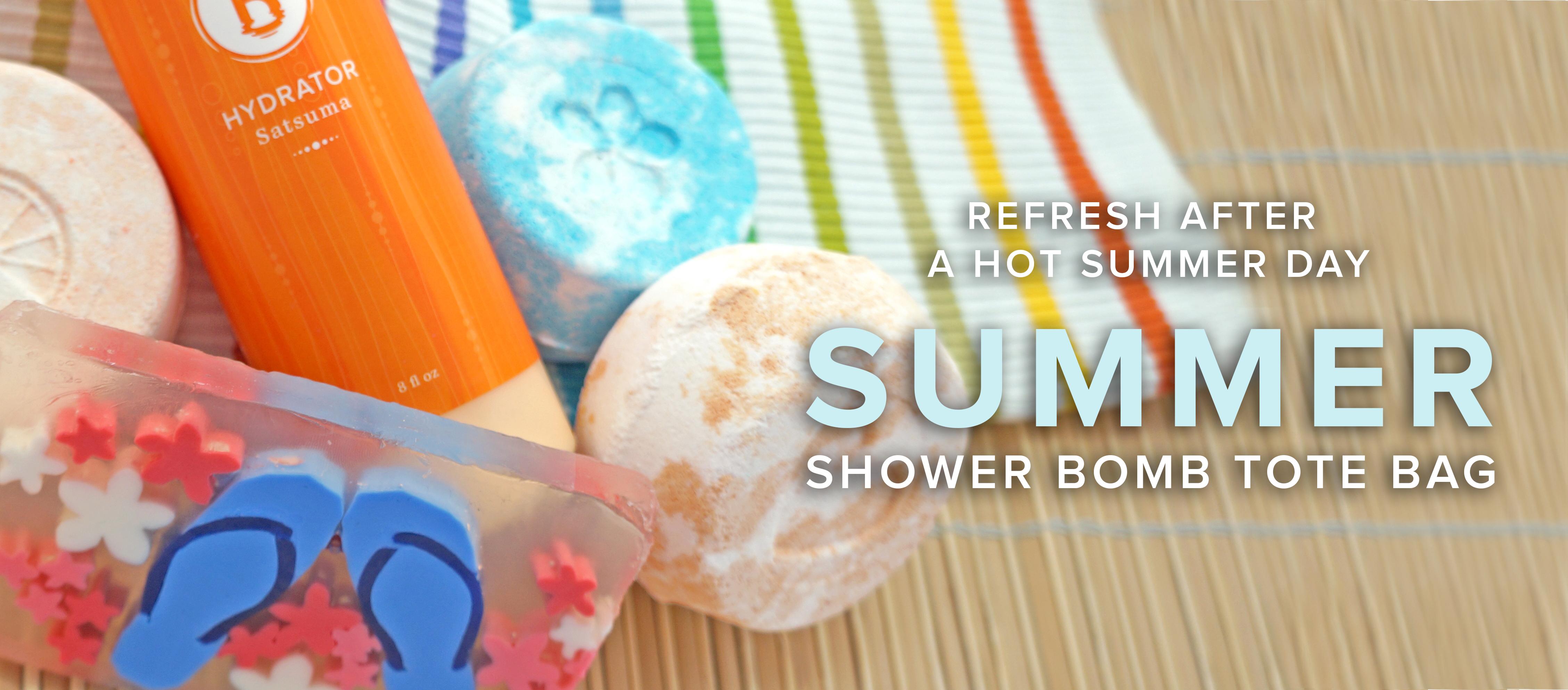 Summer Shower Bomb Tote Bag