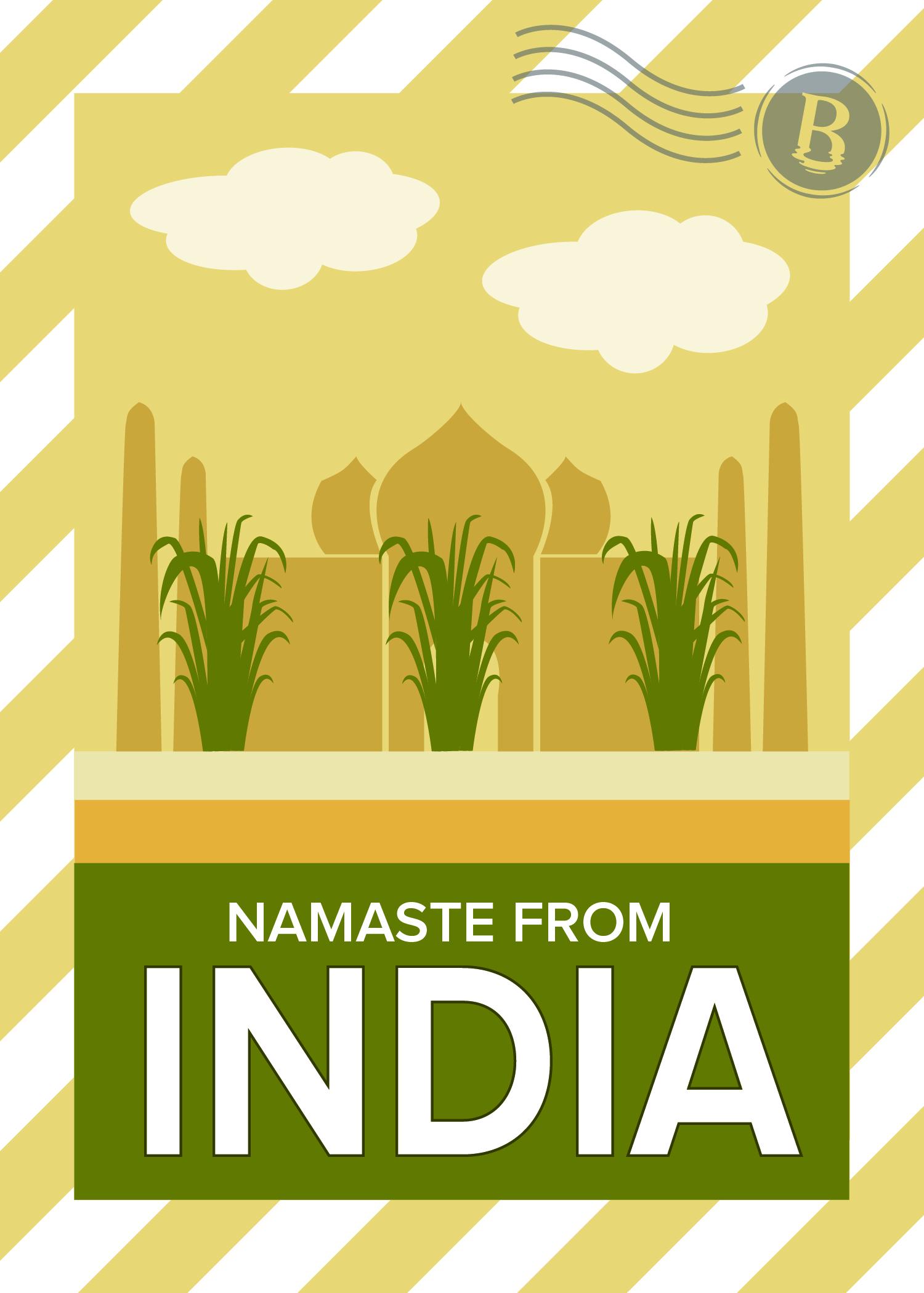 IndiaPostcard