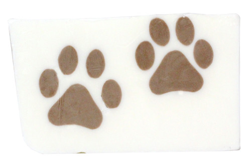 Fresh Cut Paw Prints Soap