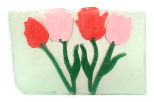 Fresh Cut Tulips Soap