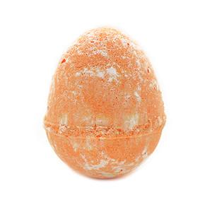Orange Dino Egg Bath Bomb