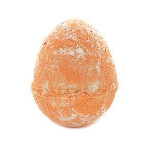 Orange Dino Egg Bath Bomb