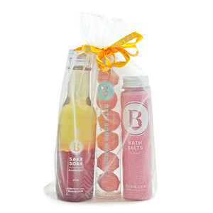 Luxury Bath Trio Bag