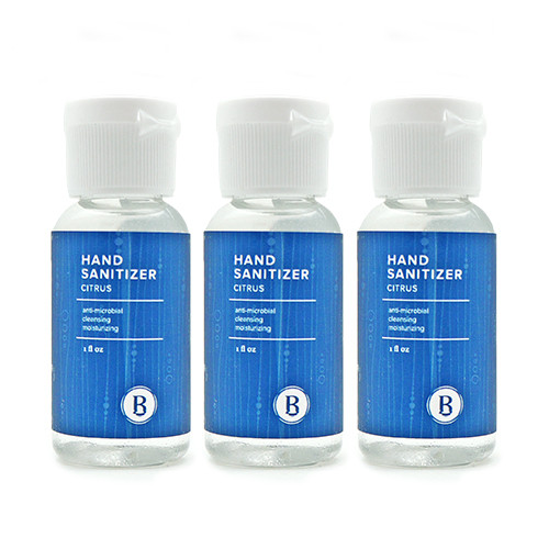 Citrus Hand Sanitizer 3-Pack