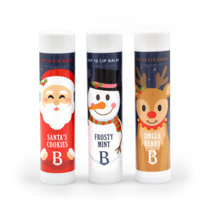 Holiday Lip Balm Trio Bag