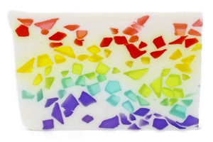 Rock Candy Rainbow Soap