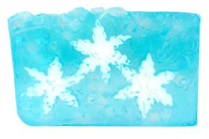 Fresh Cut Snowflake vegetable glycerin soap