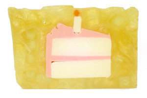 Fresh Cut Birthday Cake Soap