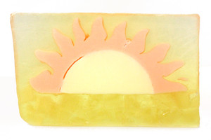 Basin White Sunrise, Sunset Soap