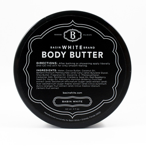 Basin White Body Butter (Basin White)