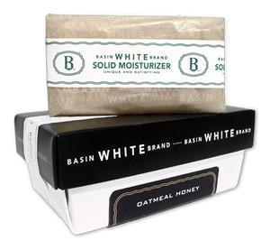 Oatmeal Honey Solid Moisturizer (Basin White)