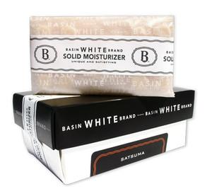 Satsuma Solid Moisturizer (Basin White)