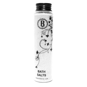 Almond Coconut Bath Salts (Basin White)