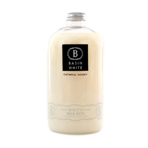 Oatmeal Honey Milk Bath (Basin White)